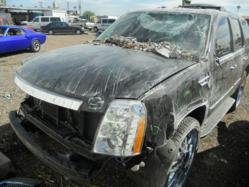 Damaged truck at Phoenix Body Shop Capitol Collision